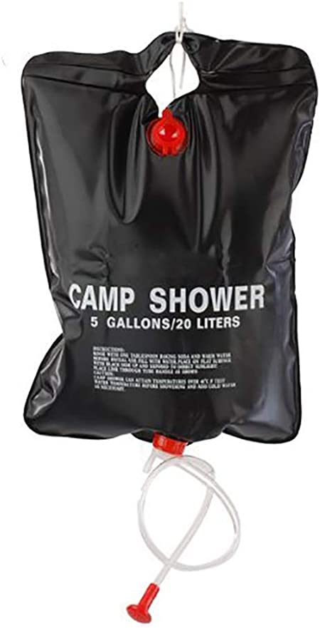 25L Solar Shower Camping Water Portable Outdoor Camping Heated by Sun