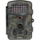 JXWANG Trail Camera 12MP 1080P HD Wildlife Camera With 120° Wide Angle Lens And 2.4 LCD Display IP54 Waterproof For Wildlife Hunting And Home Security