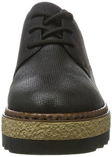 Black black black L black shoes Rieker womens low xBYpqwng0