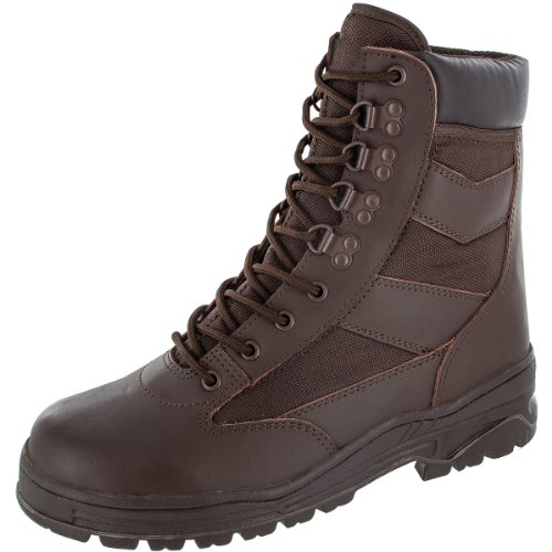 Alpha 9 Brown Boots size Highlander dUP8d