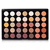 DE'LANCI 35 Color Eyeshadow Makeup Palette Set - High Pigmented - Professional Vegan Nudes Warm Natural Shimmer Matte Eye Shadow Cosmetic Kit #35O