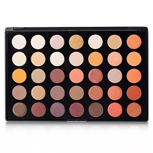DE'LANCI 35 Color Eyeshadow Makeup Palette Set - High Pigmen