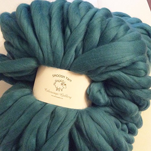 Giant Yarn, SMOOSH yarn, Super Chunky,Super Soft Handspun Merino