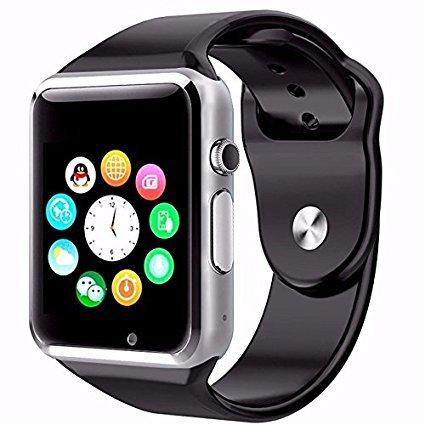 f642efd8d8cb Reloj Celular Smartwatch A1 Camara Bluetooth MicroSD  Amazon.com.mx ...