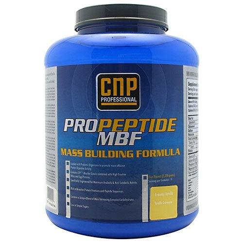 CNP Professional ProPeptide M.B.F. - Creamy Vanilla - 5 lbs (2270 g)