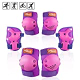 eNilecor Kids/Youth Rollerblade Roller Skates Cycling Knee Pads Elbow Pads Wrist Guards Protective