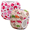 Storeofbaby Reusable Baby Swim Diapers Swimming Pants for Newborn Toddlers 0-3 Years