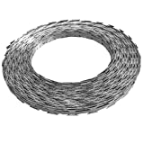 SKB Family BTO-22 NATO Razor Wire 328' Steel with Plastic Container New Steel Gauge