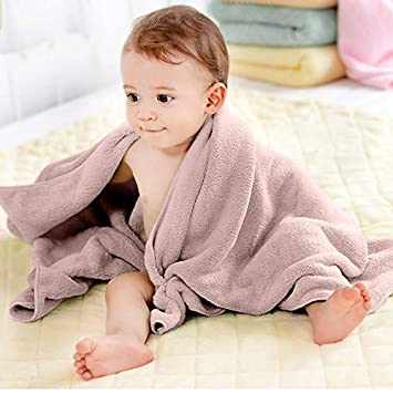Amazon.com : Cute Bath Towel for Kids and Babies Material in Bamboo Fiber Material 100% Ecological Soft and Extra Absorbent : Baby