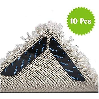 Amazon Com Rug Gripper Carpet Corner Weights No Slip Anti