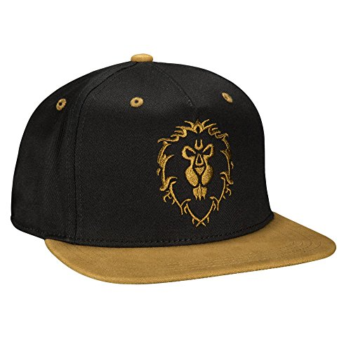JINX World of Warcraft Legendary Alliance Snapback Baseball Hat, Black, One Size