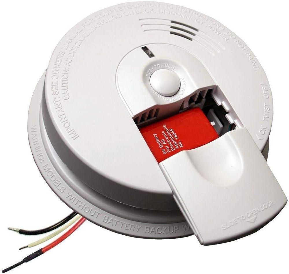 Kidde i4618AC Hardwire Smoke Alarm, 2 Pack