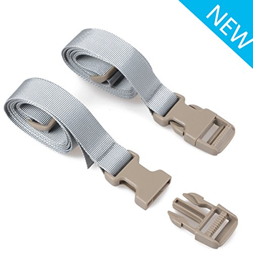 XTACER (Set of 2) Backpack Accessory Str - Quick Release Luggage Belt Shopping Results