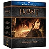 The Hobbit Trilogy Extended Edition [Blu-ray]