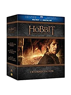 The Hobbit Trilogy Extended Edition [Blu-ray] (B014JE731Q) | Amazon price tracker / tracking, Amazon price history charts, Amazon price watches, Amazon price drop alerts