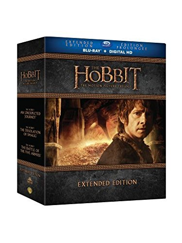 The Hobbit Trilogy Extended Edition [Blu-ray] Various Warner Home Entertainment