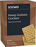 #9: Amazon Brand - Solimo Honey Graham Crackers with Real Honey, 28.8 Ounce