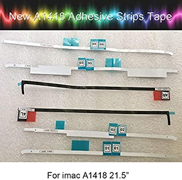 Computer Cables Laptop LCD Screen Adhesive Strip for iMac 21.5 A1418 LCD Display Adhesive Strip Sticker Tape 2012-2015 Year Yoton Cable Length: 1pcs