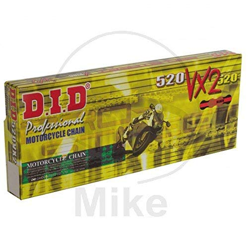(DID chain 520VX2X-Ring Gold 100Links Continuous)