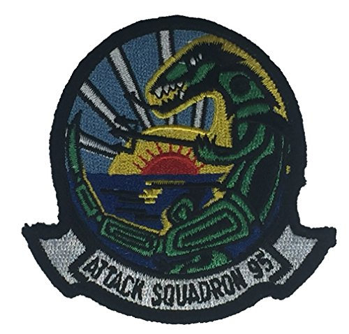 Navy Flight Suit Patches (US NAVY ATTACK SQUADRON 95 PATCH - Color - Veteran Owned Business)