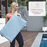Ajna Acupressure Mat and Pillow Set - Ideal for