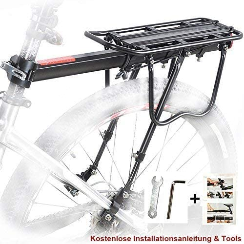 Adjustable Alloy Rear Bicycle Pannier Bag//Luggage Rack Bike//Cycle Seat Post