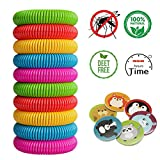 Mosquito Repellent Bracelets Green Nature Bug & Insect Repellent Bands,Pest Control for Babies