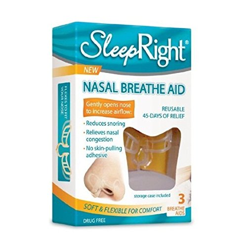 SleepRight Nasal Breathe Aid 3 Count