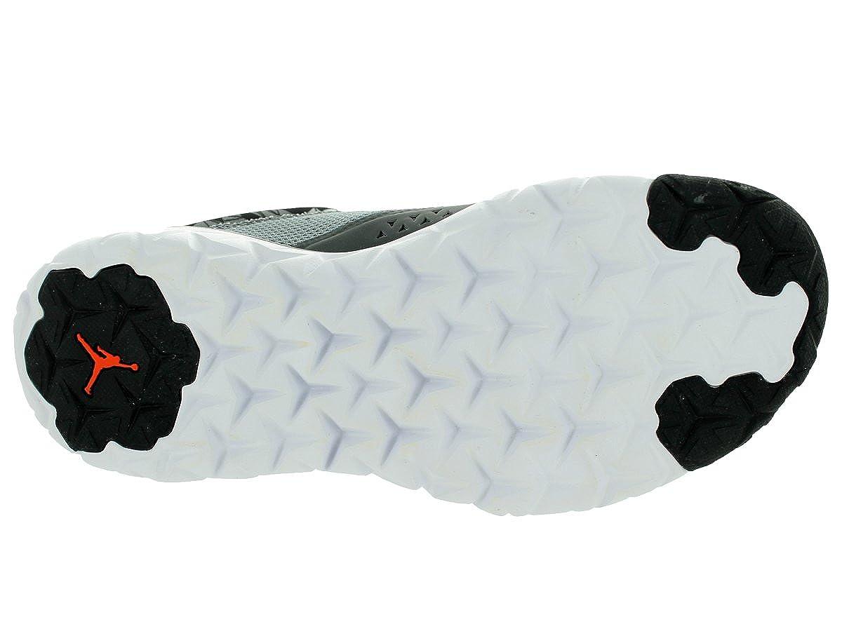 4611a393976cf Jordan Nike Kid's Flight Flex Trainer Bg Cool Grey/Tm Orange/White Training  Shoe 6.5
