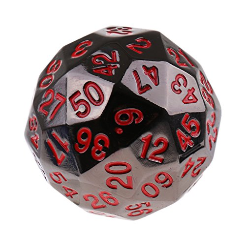 MonkeyJack Digital Dice 38mm 60-Sided D60 Die for Party Role Playing Board Game Prop #6 by MonkeyJack