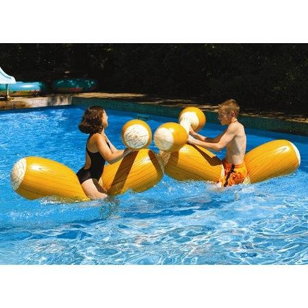 Swimline Log Flume Joust Pool Toy (Set of (Joust Set)
