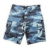 BDU Shorts (Large, Sky Camo)