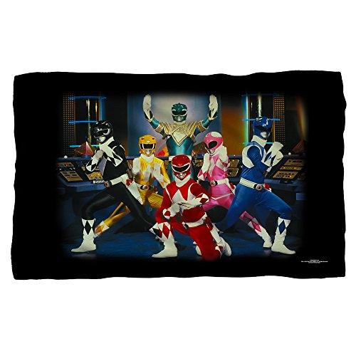 Mighty Morphin Power Rangers TV Series Stance Polar Fleece (List Of Superheros And Villians)