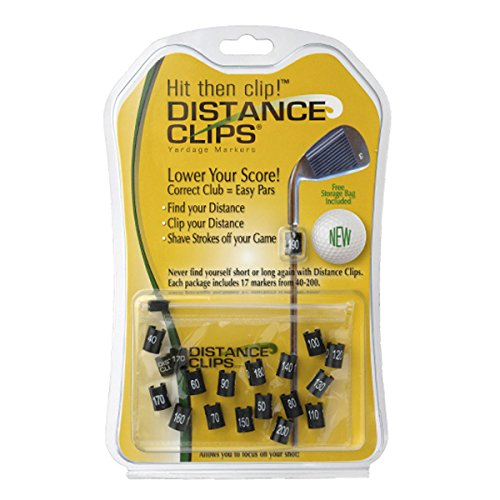 Distance Clips Yardage Markers