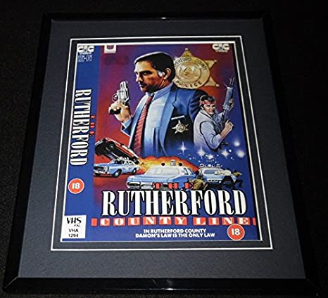 The Rutherford County Line Framed 8x10 Repro Poster Display Damons Law at Amazons Sports Collectibles Store