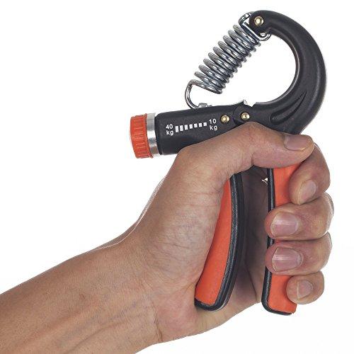 Readaeer 2 pack Adjustable Forearm Hand Wrist Gripper Exerciser Strengthener Strength Trainer