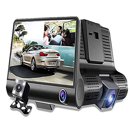 1080P Car Camera Parking Video With Rearview Dual Lens - 9