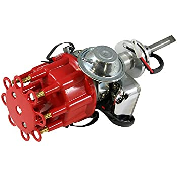 Amazon com: Top Street Performance JM6513R HEI Distributor with Red