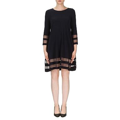 9c6dfb8ed62 Joseph Ribkoff Dress Style 171172 Black at Amazon Women s Clothing store
