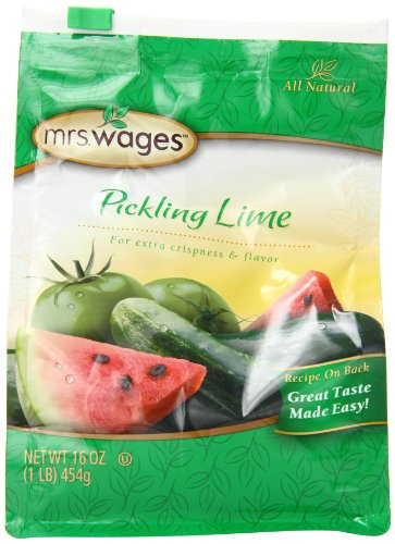 (Mrs. Wages Pickling Lime, 16 Ounce (Pack of 6) )