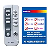 HA-2016 Replaces Frigidaire Air Conditioner Remote Control YN1G 5304459106 Works for FAH146R2T1 FAH146R2T2 FAM156R1A FAM156R1A1 FAM156R1A2 FAM186R2A FAM186R2A1