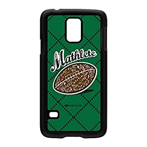 Sassy - Mathlete 10122 Black Hard Plastic Case Snap-On Protective Back Cover for Samsung? Galaxy S5 by Sassy Slang + FREE Crystal Clear Screen Protector