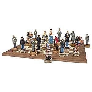 Design Toscano WU973683 Civil War Sculptural Chess Set