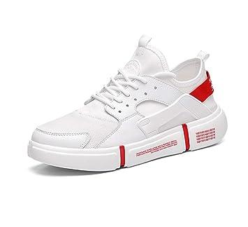 SHANGWU Zapatos para Caminar de los Hombres Zapatos de amortiguación Zapatillas de Deporte al Aire Libre