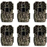 Stealth Cam G45NGX G Series Camouflage Wildlife Scouting Hunting Trail Camera (6 Pack)