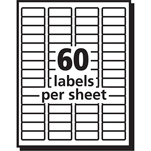 Avery easy peel return address labels for laser printers 2 for Avery 2 x 3 label template