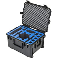 Go Professional Cases Yuneec Typhoon H Injection Waterproof Custom Case Transit Cases, Black/Blue, One Size