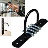 Namee Ground/Wall Anchor for Battle Rope, Suspension Training Straps, Crossfit Olympic Rings, Body Weight Strength Training Systems, Yoga Swings Hammocks, Boxing Equipment, (Black)