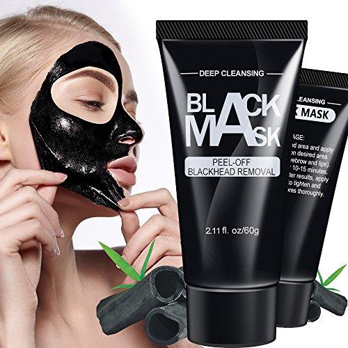 Bamboo Charcoal Acne Mask Oily Skin: Black Mask, Blackhead Remover Mask, Anti-wrinkle Peel Off