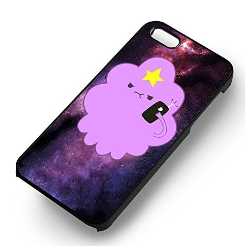 Space Princess pour Coque Iphone 6 et Coque Iphone 6s Case (Noir Boîtier en plastique dur) N9Q1HM